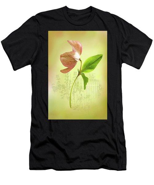 Lenton Rose 1 Men's T-Shirt (Athletic Fit)