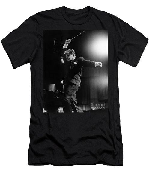 Leonard Bernstein Men's T-Shirt (Athletic Fit)