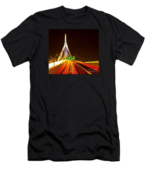 Leonard P. Zakim Bunker Hill Bridge  Men's T-Shirt (Athletic Fit)