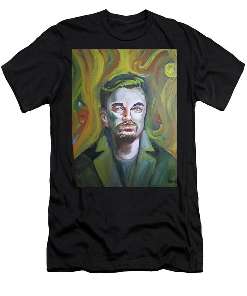 Leonardo Di Caprio Men's T-Shirt (Athletic Fit)