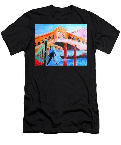 Leonardo Festival Of Venice Men's T-Shirt (Athletic Fit)