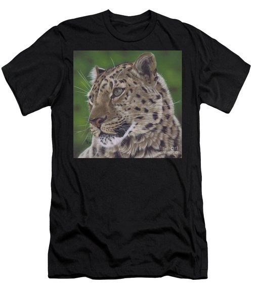 Leopard Men's T-Shirt (Athletic Fit)