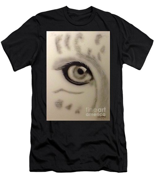 Leopard's Eye Men's T-Shirt (Athletic Fit)