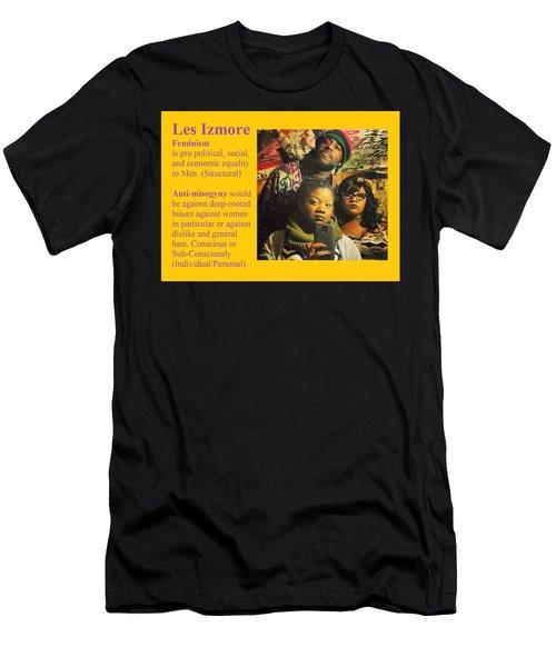 Les Izmore Feminism Men's T-Shirt (Athletic Fit)
