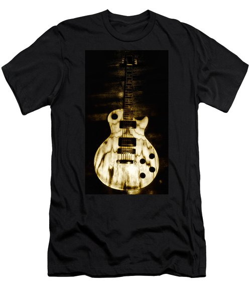 Les Paul Guitar Men's T-Shirt (Athletic Fit)