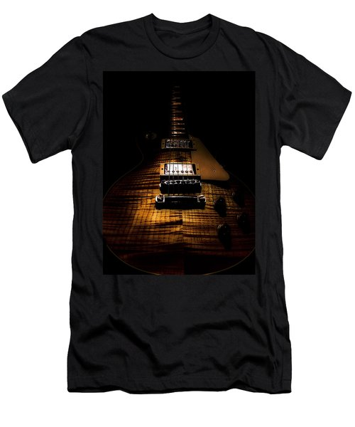 Burst Top Guitar Spotlight Series Men's T-Shirt (Athletic Fit)