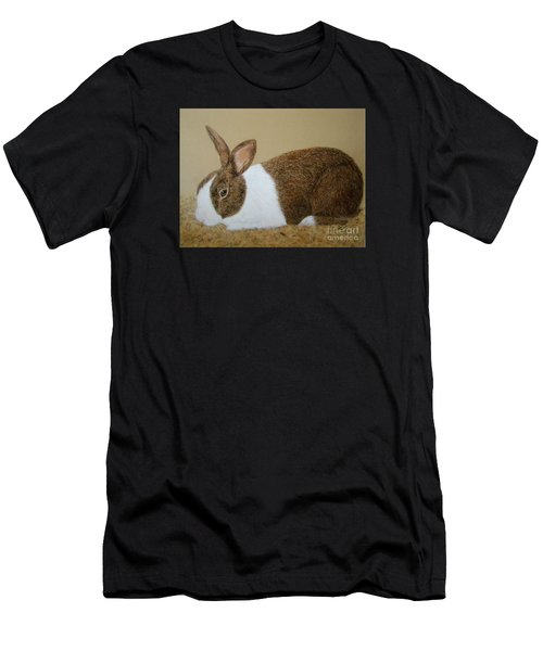 Les's Rabbit Men's T-Shirt (Athletic Fit)