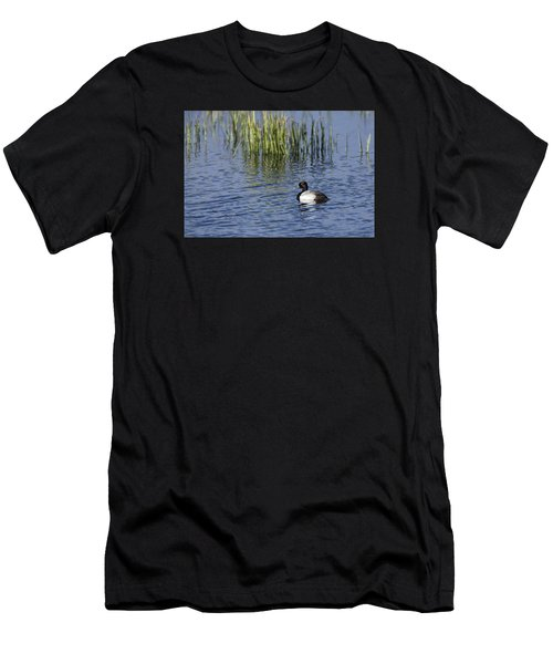 Lesser Scaup Adult Male Men's T-Shirt (Athletic Fit)