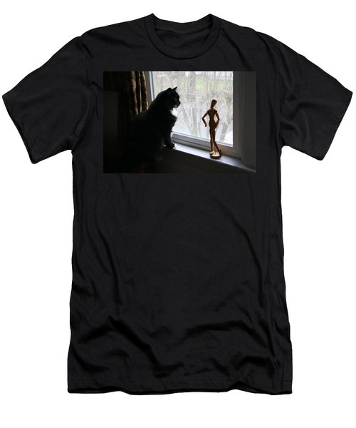 Lesson In Perspective  Men's T-Shirt (Athletic Fit)