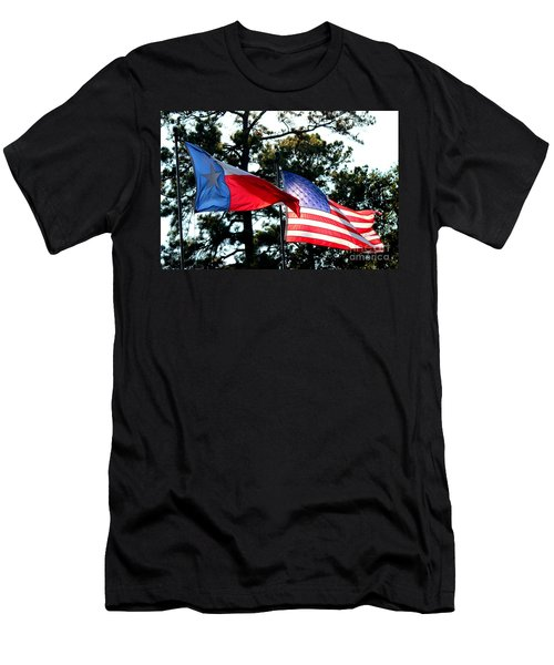 Men's T-Shirt (Slim Fit) featuring the photograph Let Freedom Ring by Kathy  White