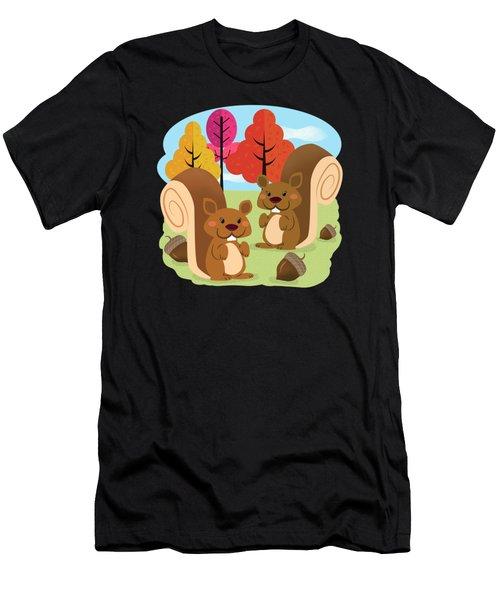 Let The Acorns Fall Men's T-Shirt (Athletic Fit)