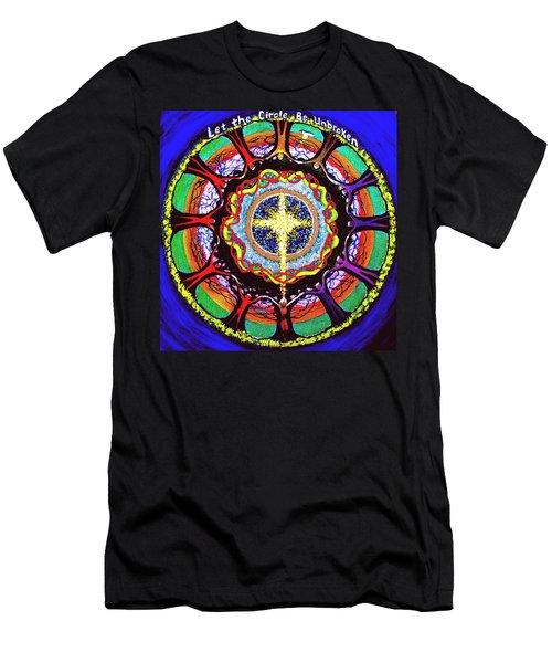 Let The Circle Be Unbroken Men's T-Shirt (Athletic Fit)