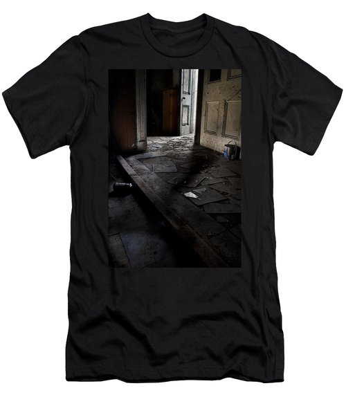 Let The Light In. Men's T-Shirt (Athletic Fit)