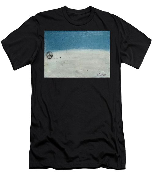 Let There Be Peace Men's T-Shirt (Athletic Fit)