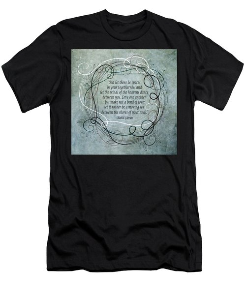 Let There Be Spaces Men's T-Shirt (Athletic Fit)