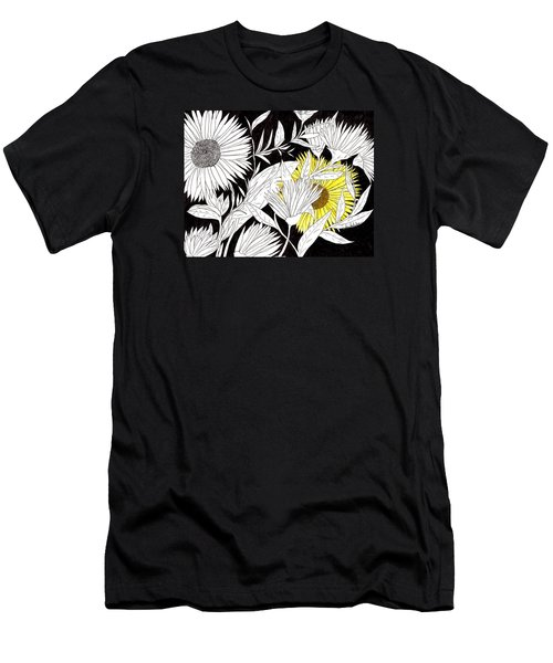 Men's T-Shirt (Slim Fit) featuring the drawing Let Your Light Shine by Lou Belcher