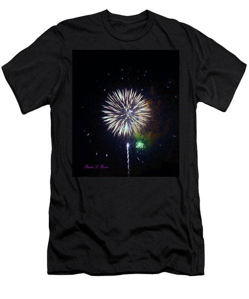 Men's T-Shirt (Slim Fit) featuring the photograph Lets Celebrate by Shana Rowe Jackson