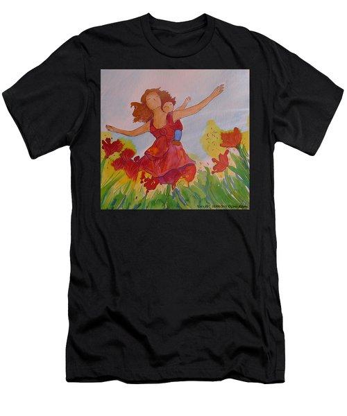 Let's Fly  Men's T-Shirt (Athletic Fit)