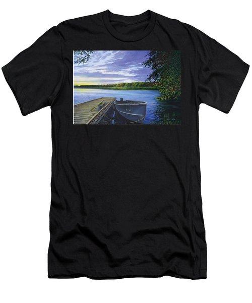 Let's Go Fishing Men's T-Shirt (Athletic Fit)