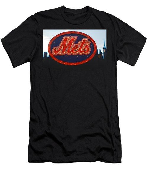 Lets Go Mets Men's T-Shirt (Athletic Fit)