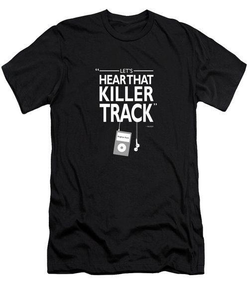 Lets Hear That Killer Track Men's T-Shirt (Athletic Fit)