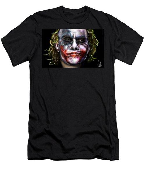 Let's Put A Smile On That Face Men's T-Shirt (Slim Fit) by Vinny John Usuriello