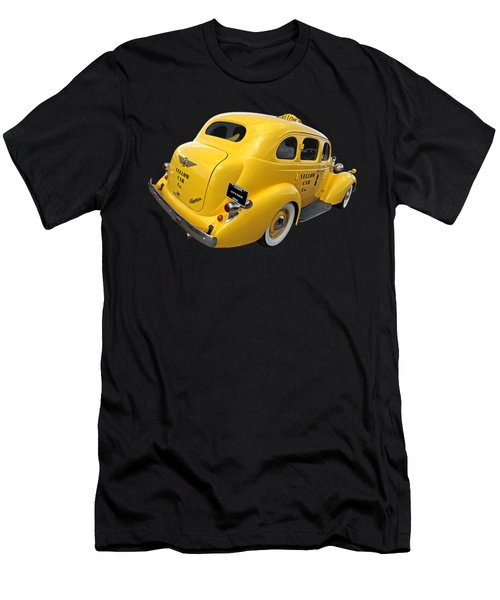 Let's Ride - Studebaker Yellow Cab Men's T-Shirt (Athletic Fit)