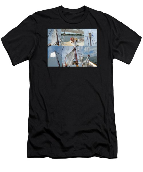 Let's Sail Men's T-Shirt (Athletic Fit)