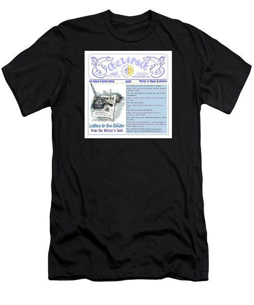 Real Fake News Letters To The Editor Men's T-Shirt (Athletic Fit)