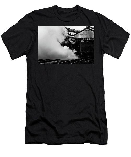 Letting Off Steam Men's T-Shirt (Slim Fit) by Ken Brannen