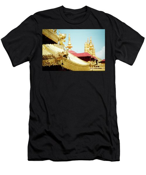 Lhasa Jokhang Temple Fragment Tibet Men's T-Shirt (Athletic Fit)