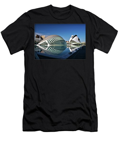 Valencia, Spain - City Of Arts And Sciences Men's T-Shirt (Athletic Fit)