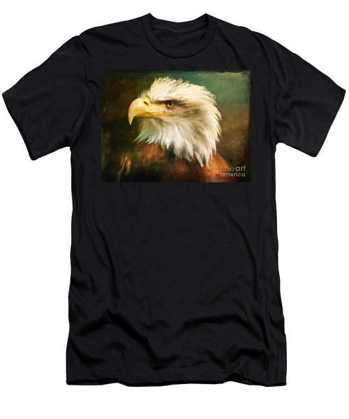 Liberty And Justice Men's T-Shirt (Athletic Fit)