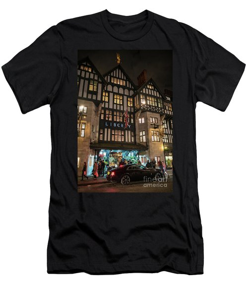 Liberty Of London Out Front Night Men's T-Shirt (Athletic Fit)