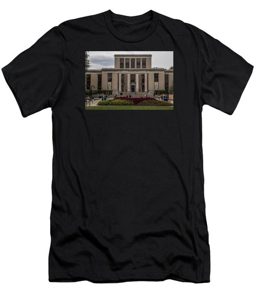 Library At Penn State University  Men's T-Shirt (Slim Fit) by John McGraw