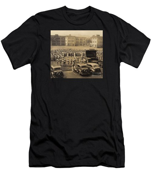Lick The Chicks Men's T-Shirt (Slim Fit) by Walter Chamberlain