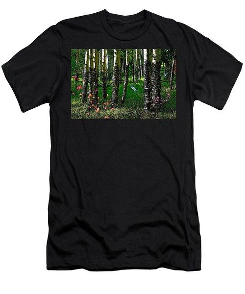 Life Among The Aspens Men's T-Shirt (Athletic Fit)