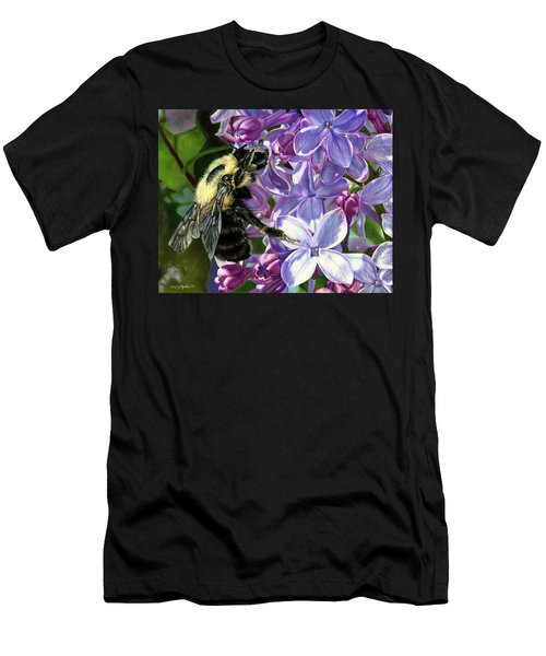 Life Among The Lilacs Men's T-Shirt (Athletic Fit)