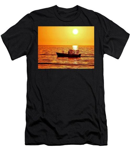 Life At Sea Men's T-Shirt (Athletic Fit)