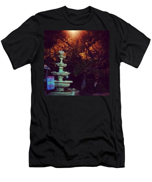 Night Time Trials Men's T-Shirt (Athletic Fit)