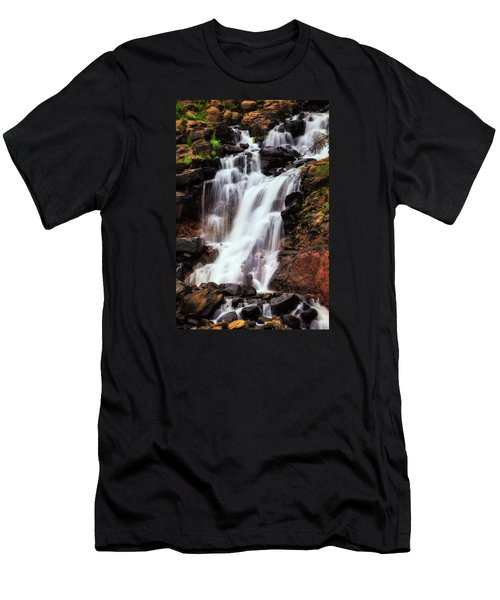 Life From Above Men's T-Shirt (Slim Fit) by Rick Furmanek