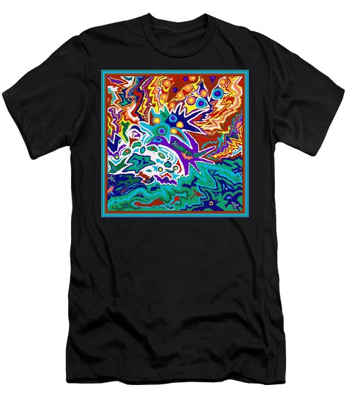 Life Ignition Option 2 With Borders Men's T-Shirt (Athletic Fit)
