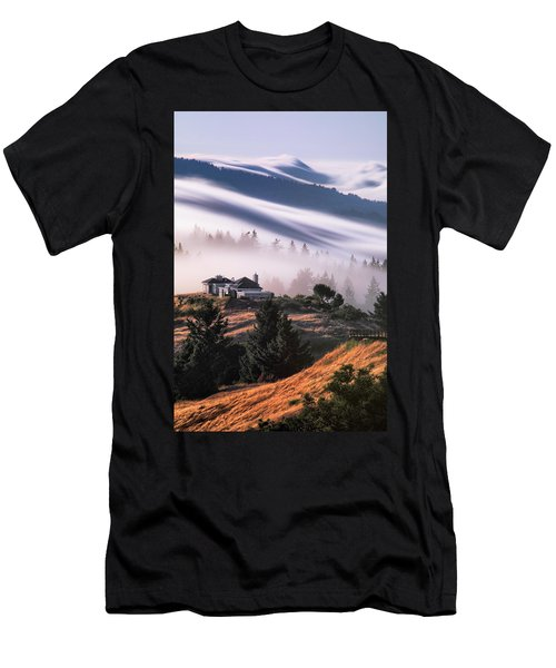 Life In The Clouds Men's T-Shirt (Athletic Fit)