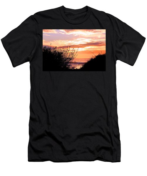 Life Is A Silhouette Men's T-Shirt (Athletic Fit)