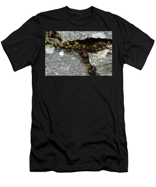 Life Lived In The Cracks Men's T-Shirt (Athletic Fit)
