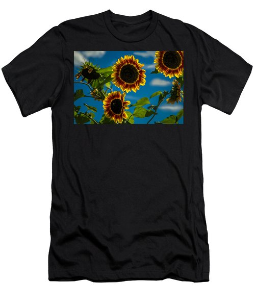 Men's T-Shirt (Slim Fit) featuring the photograph Life Of A Bumble Bee by Jason Moynihan