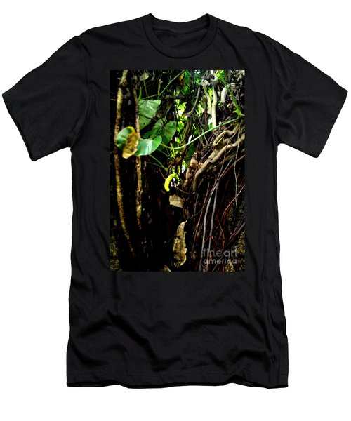 Men's T-Shirt (Slim Fit) featuring the photograph Life by Rushan Ruzaick