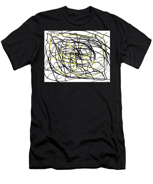 Life. White And Black Life Period But Sunlight Forever. Men's T-Shirt (Athletic Fit)