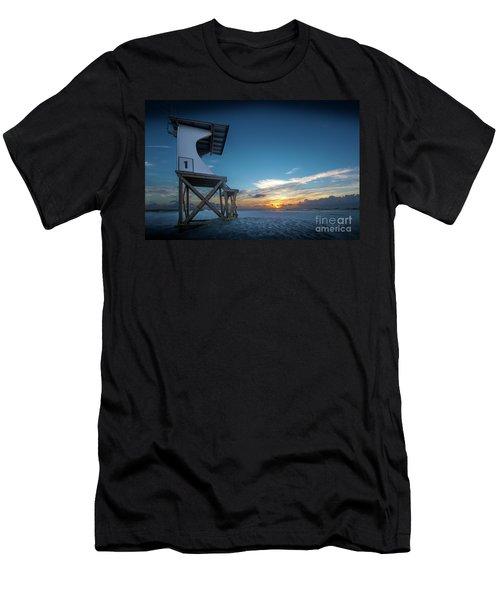Men's T-Shirt (Slim Fit) featuring the photograph Lifeguard by Brian Jones