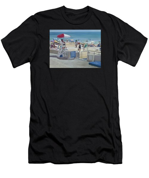 Lifeguard On Duty Men's T-Shirt (Athletic Fit)